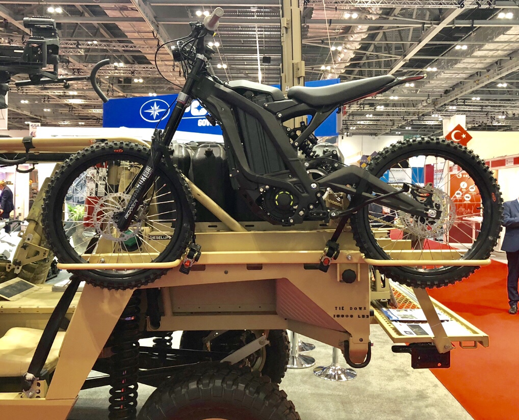 DSEI 19 - Sur-Ron High Performance Electric Bike - Soldier Systems Daily