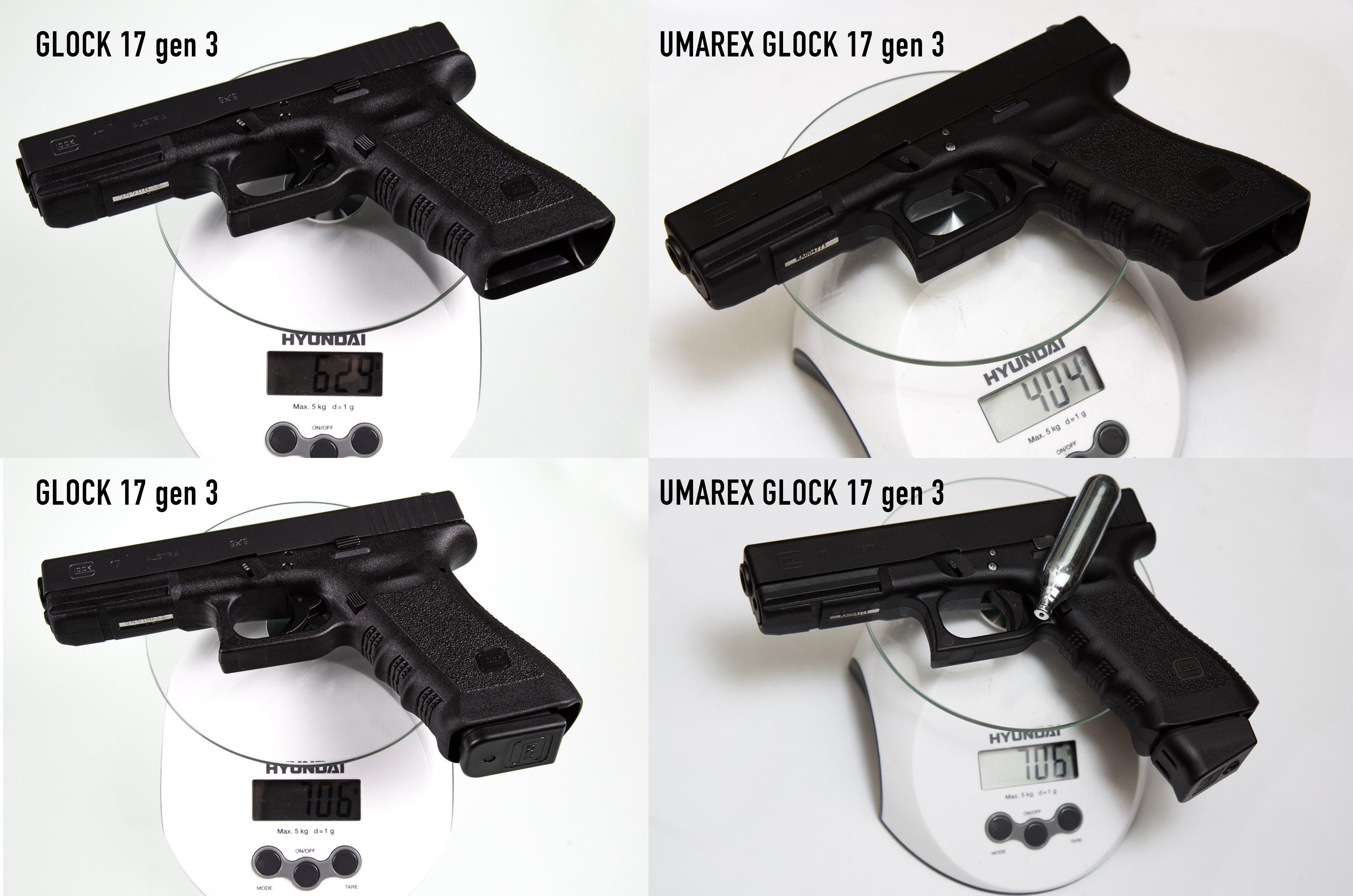 Glock 17 Gen 3 Deluxe Edition Umarex/VF - WMASG com