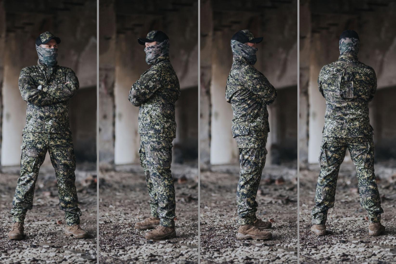 MAPA Tactical (od przodu, z boku i od tyłu)