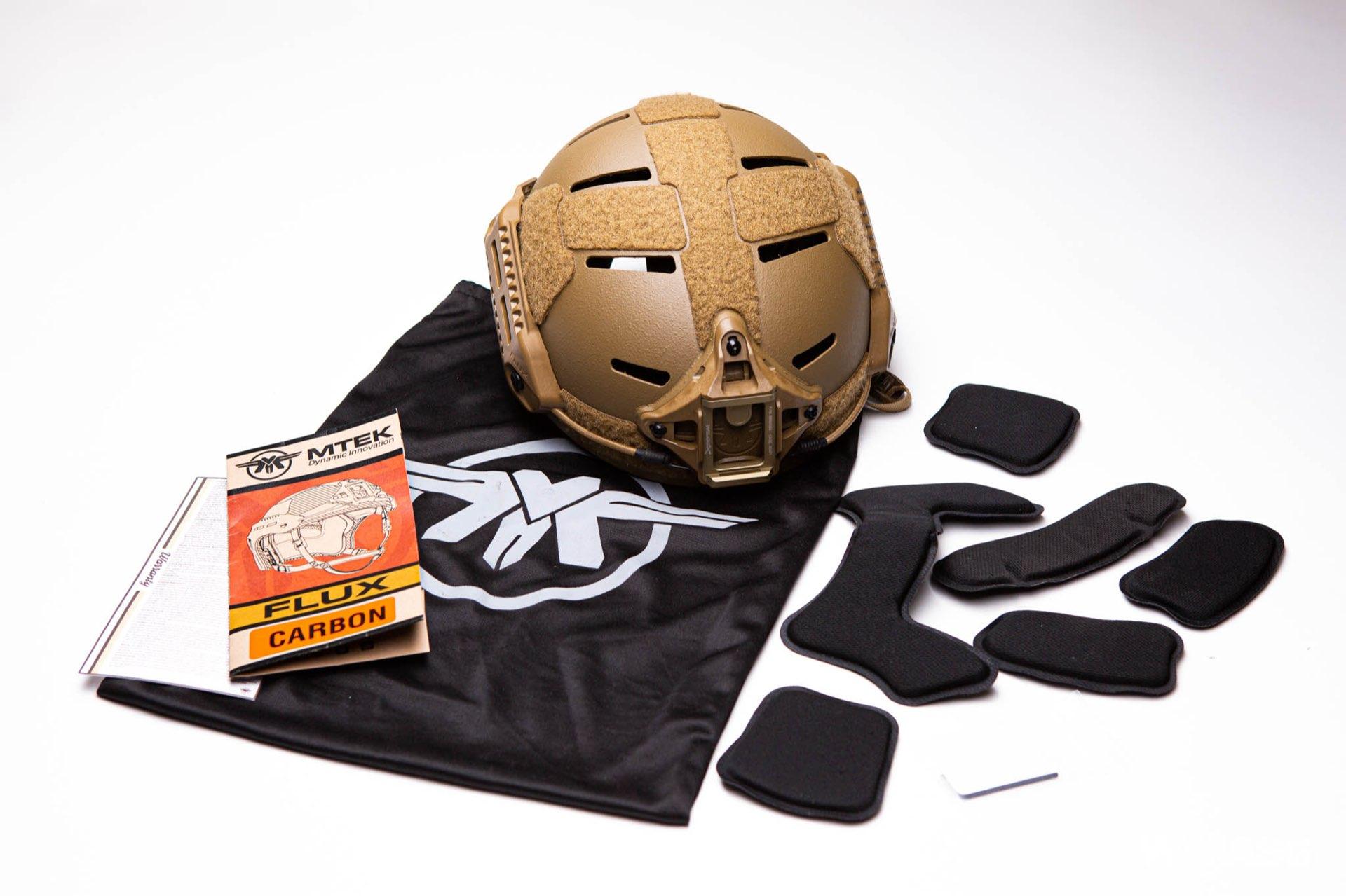MTEK Flux helmet set
