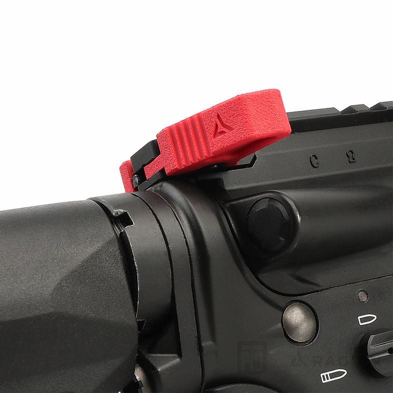 PTS Radian Raptor-LT Charging Handle - red