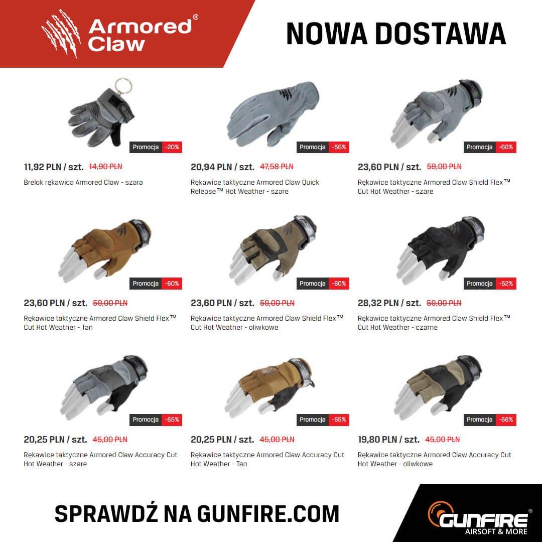Armored Claw w Gunfire