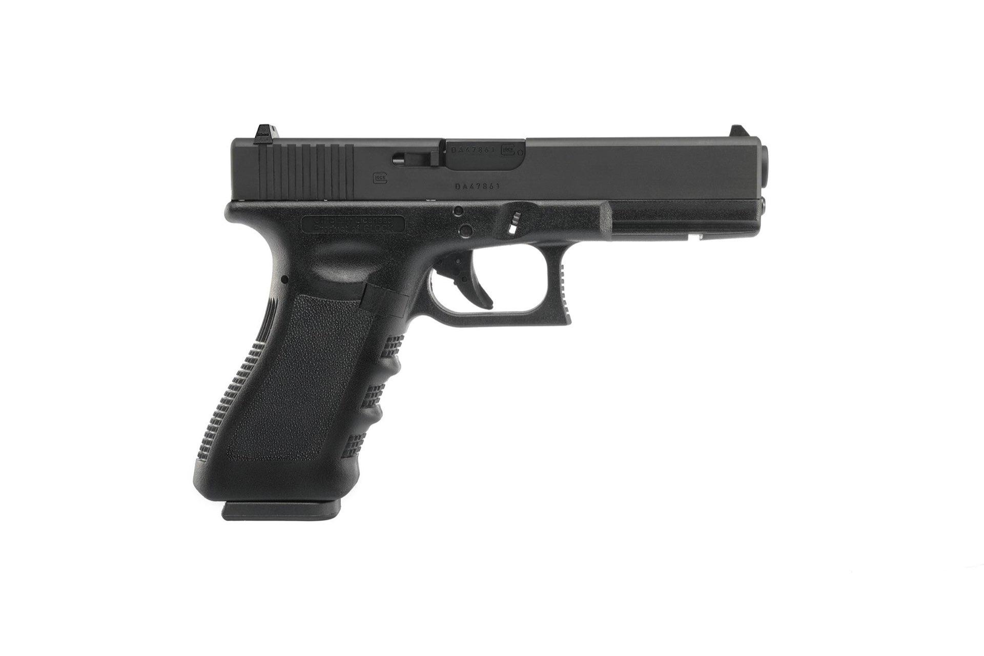 GHK Umarex Glock 17 Gen 3 GBB (z prawej)