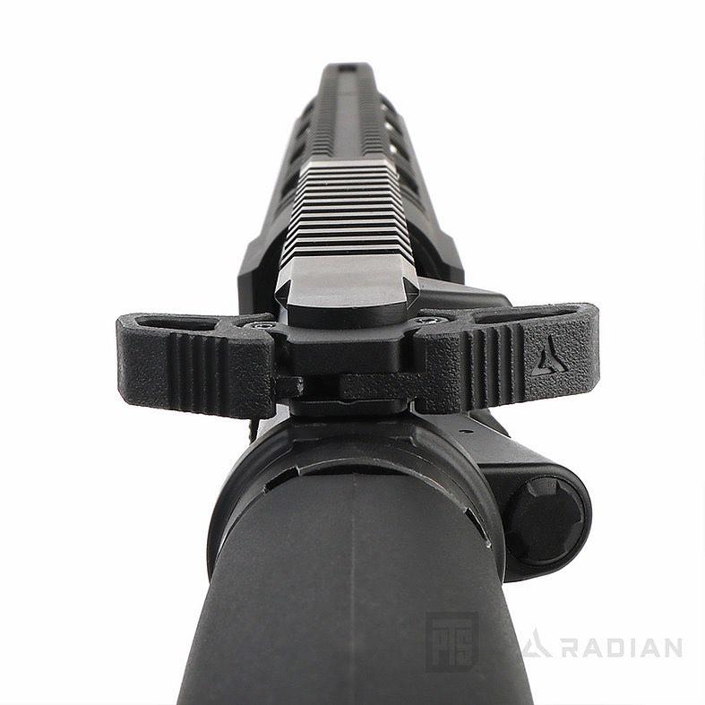 PTS Radian Raptor-LT Charging Handle - back