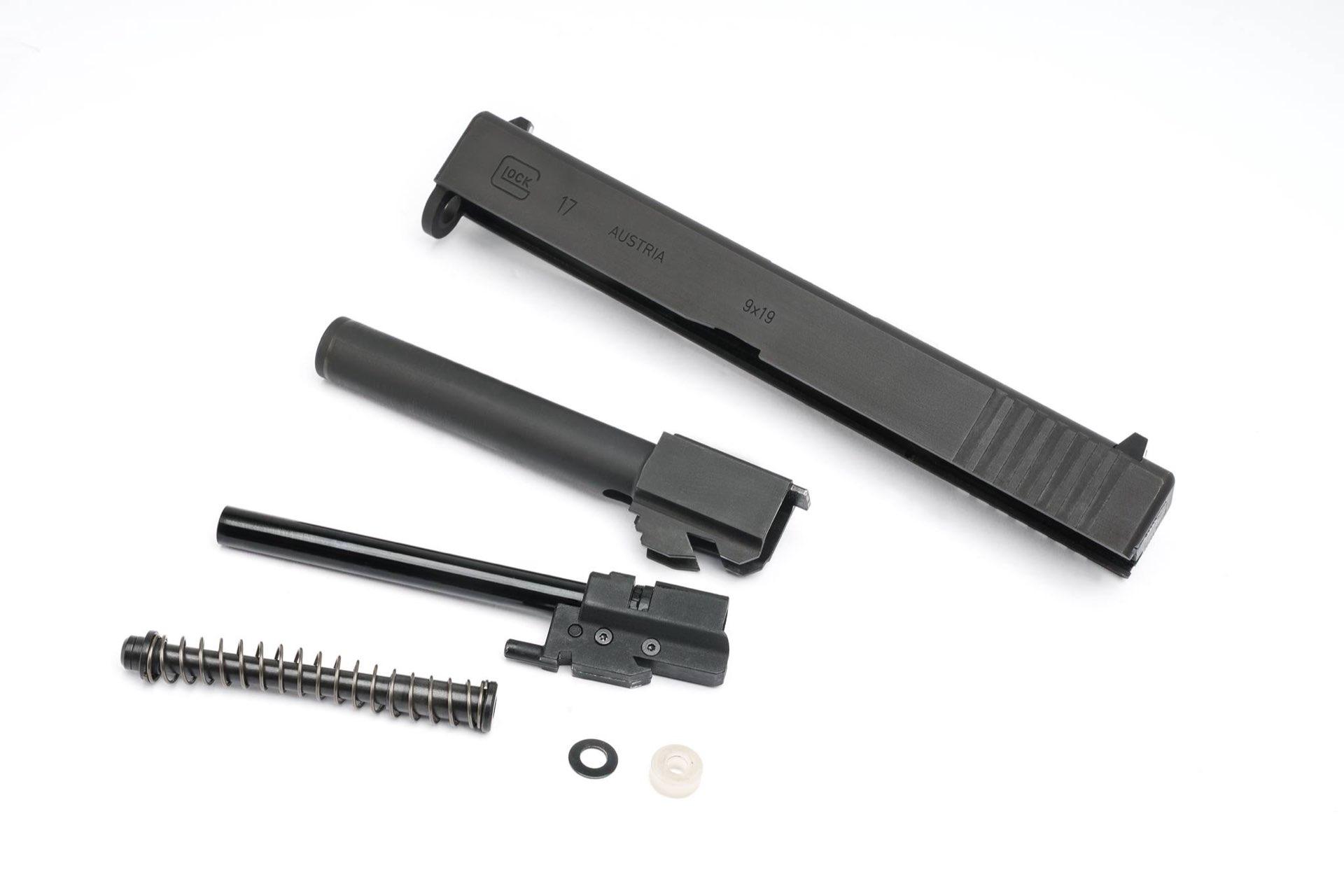 GHK Umarex Glock 17 Gen 3 GBB (zamek i lufa)