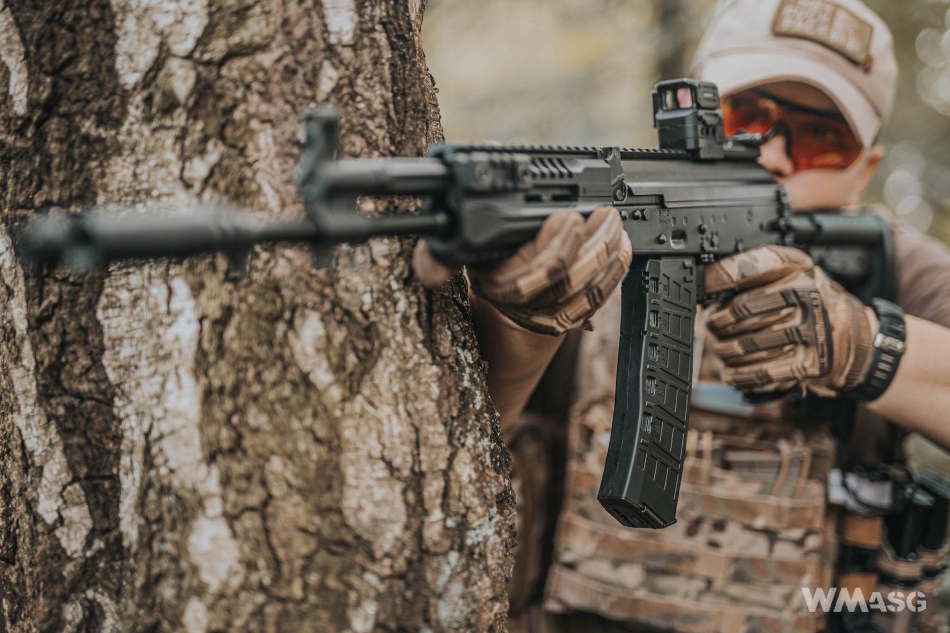 Jak Arcturus AK12 strzela?