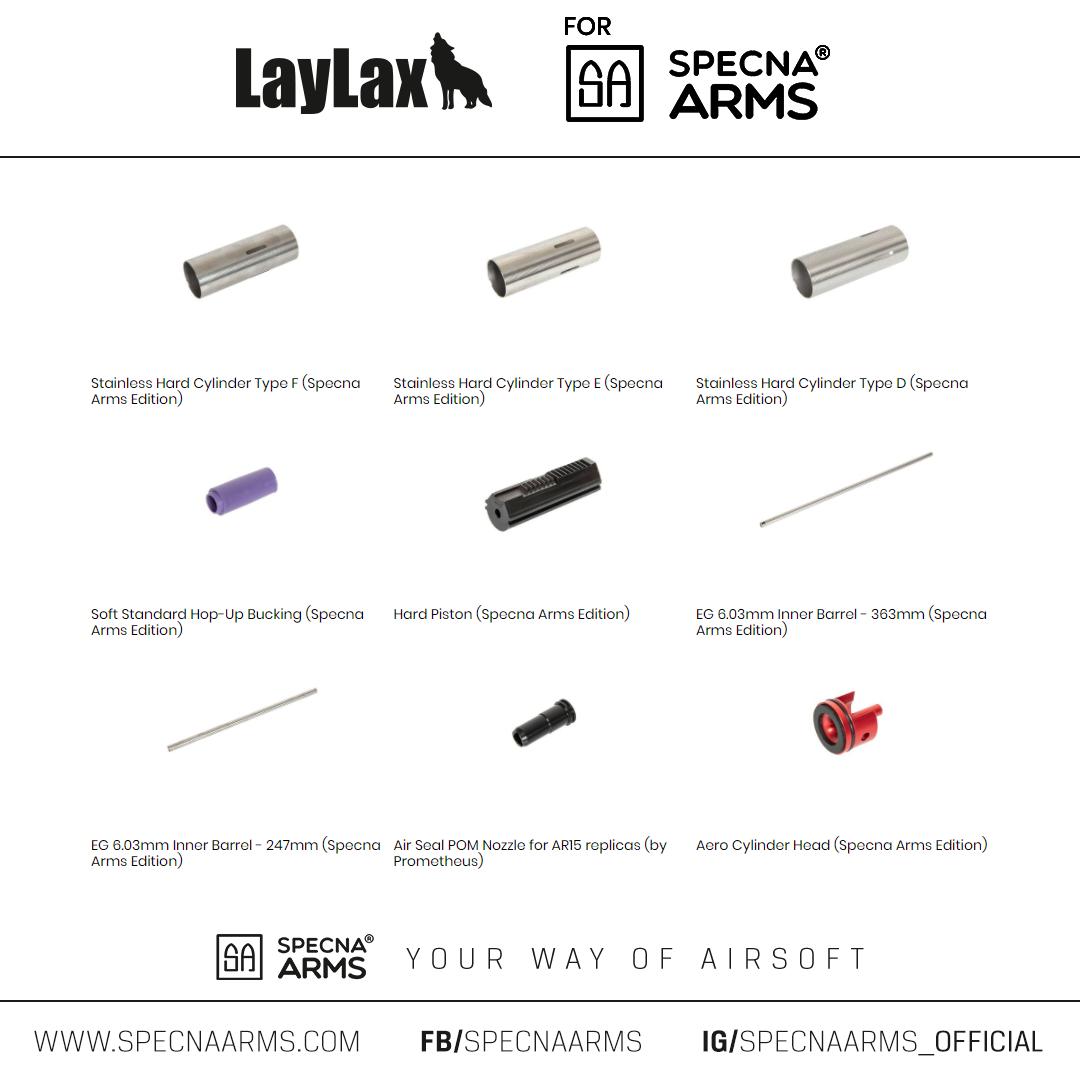 Współpraca Specna Arms z Laylax