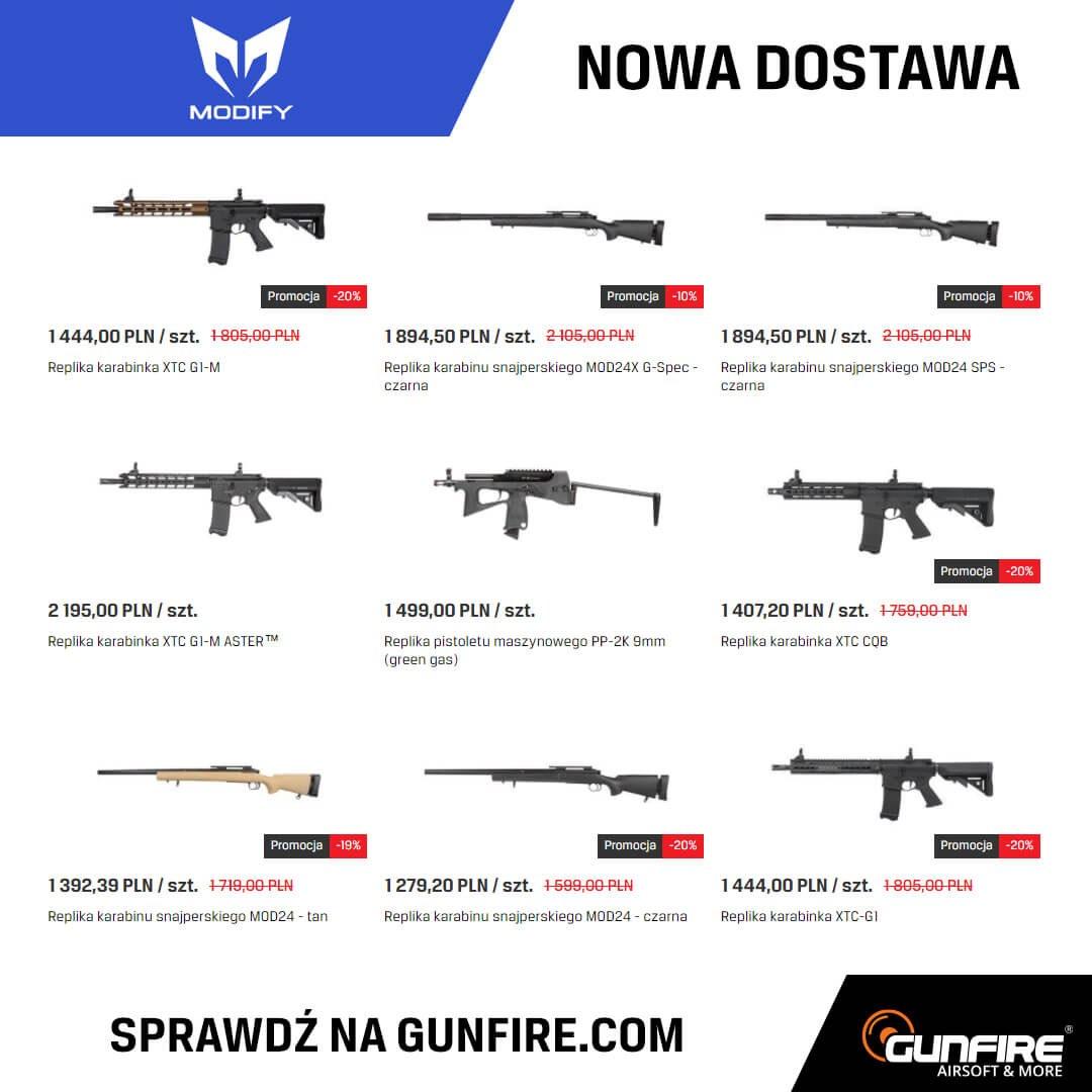 Modify w Gunfire