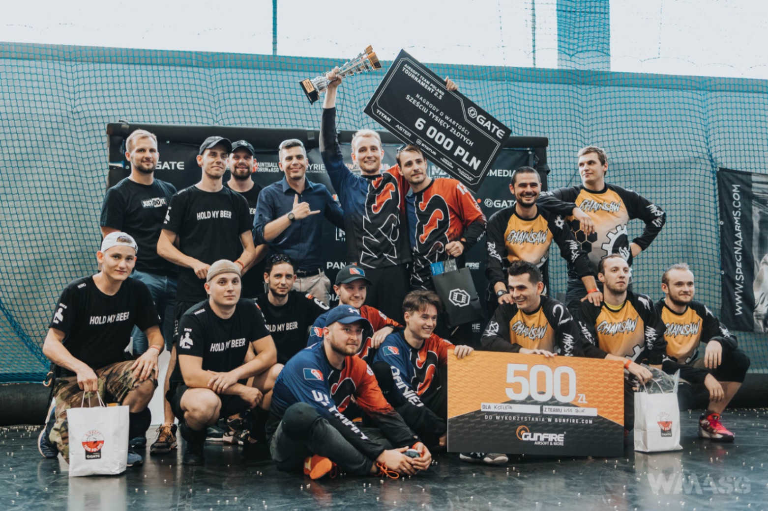 Airsoft Team Poland Tournament 2.5 No Pressure - the Beginning