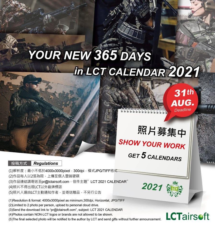 Kalendarz LCT Airsoft
