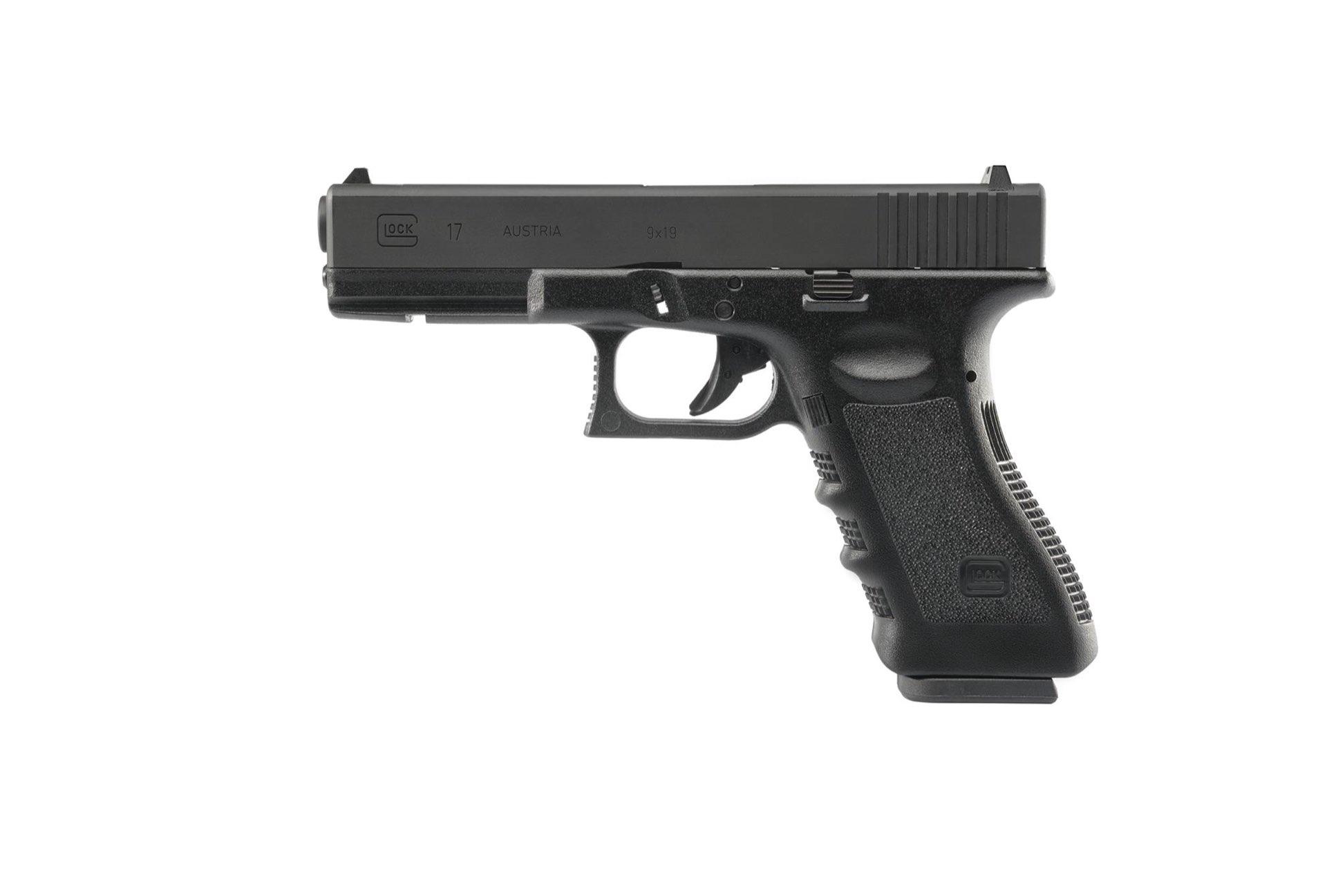 GHK Umarex Glock 17 Gen 3 GBB (z lewej)