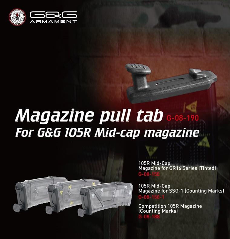G&G Magazine Pull Tab