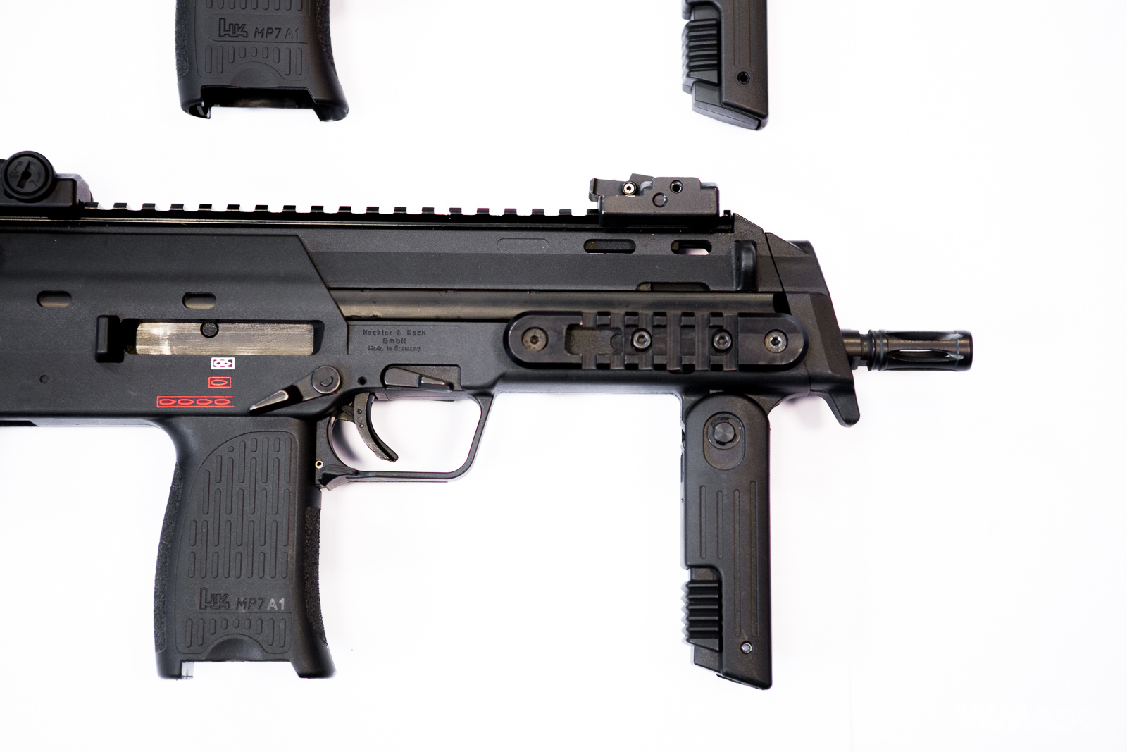 HK MP7A1 AEG - Umarex/VFC vs. palny HK MP7A1