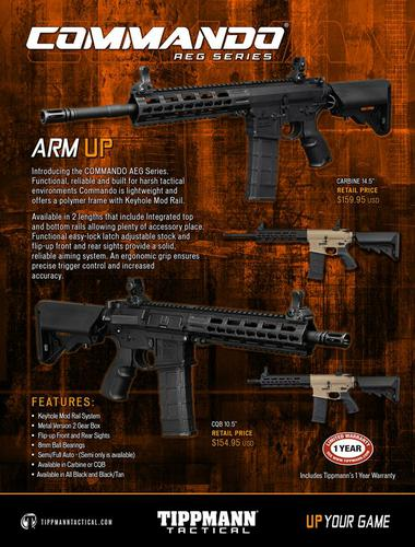 Tippmann Commando AEG Series